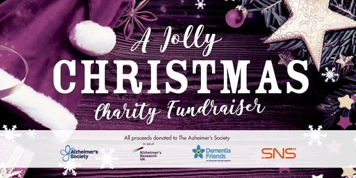 A Jolly Christmas 2019. Alzheimer's Society Charity Fundraiser