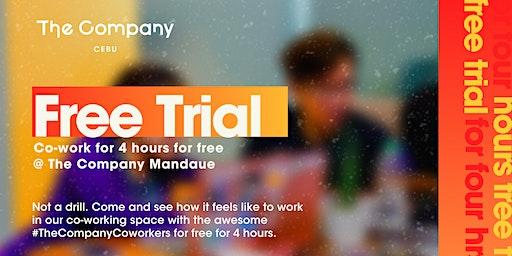Co-work for Free   Mondays @ The Company Mandaue