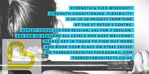 Strength & Flex Workout for all levels