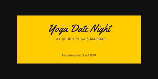 Come Together: Partner Yoga at Quincy Yoga & Massage, November 22