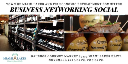 Business Networking Social (Kick-off for Small Business Saturday)