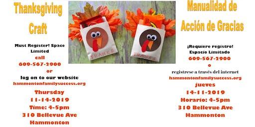Thanksgiving Craft-FREE