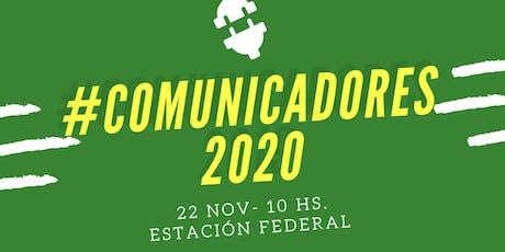 #Comunicadores2020 entradas