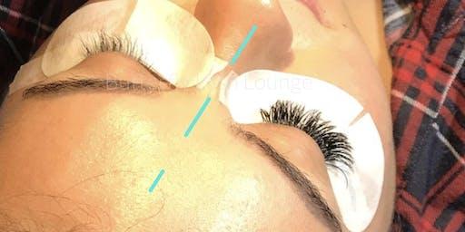 Eyelash Extension model signup