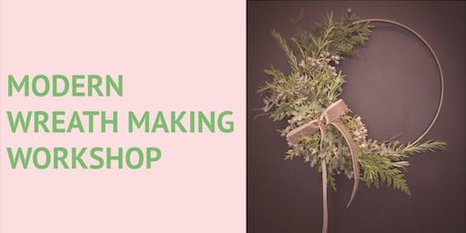 Modern Wreath Making Workshop