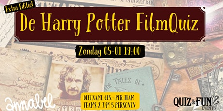 De Harry Potter FilmQuiz | Rotterdam 05-01A tickets