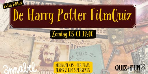 De Harry Potter FilmQuiz | Rotterdam 05-01A