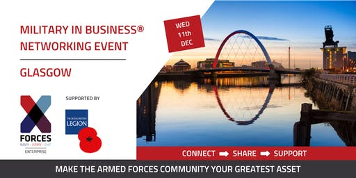 Military in Business Networking Event: Glasgow