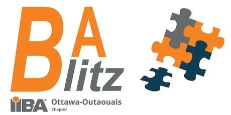 IIBA Ottawa-Outaouais BA Blitz - BA Hackathon tickets