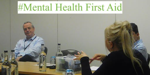 Mental Health First Aid (MHFA) Adult Two Day - REF (AD11-1920-56961)