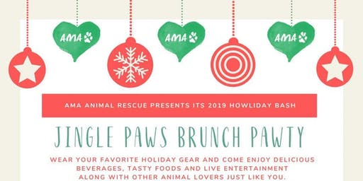 AMA Animal Rescue presents... Jingle Paws Brunch Pawty!!!