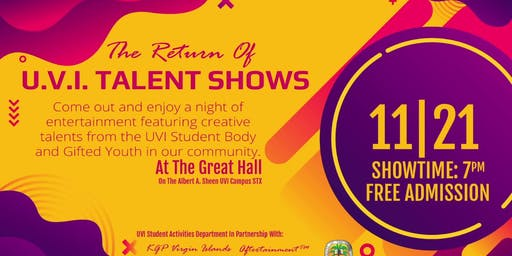 The Return of UVI Talent Shows