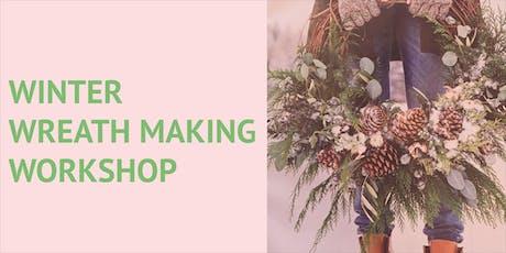 Winter Wreath Making Workshop tickets