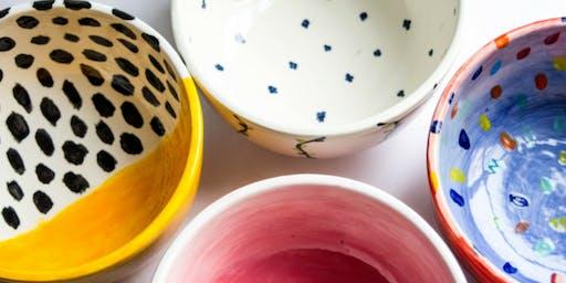 Super Bowl: Ceramic Bowl Customization - Queens Center