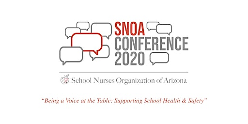 Attendee Registration - SNOA 33rd Annual School Health Conference - Being the Voice at the Table:'Supporting School Health and Safety'