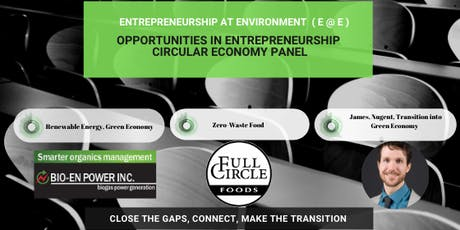 Opportunities in Circular Economy and Entrepreneurship tickets