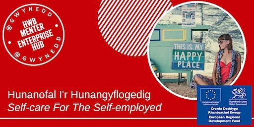 Hunanofal i'r hunagyflogedig - Self-Care for the Self-Employed