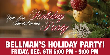 Bellman Jewelers Christmas Party! tickets