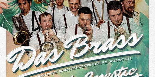 Tropical Garden Party Presents: DAS BRASS