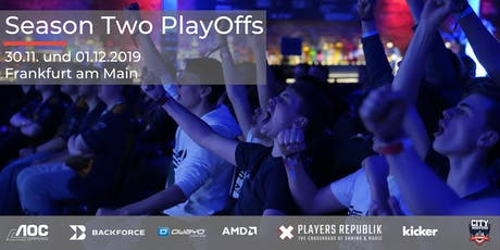 City Masters Season Two PlayOffs Tickets