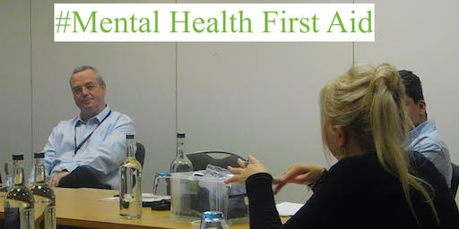 Mental Health First Aid (MHFA) Adult Two Day - REF (AD11-1920-56972)