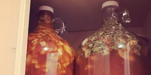 Atelier d'herboristerie : DIY Apple Cider Vinegar & Fire Cider