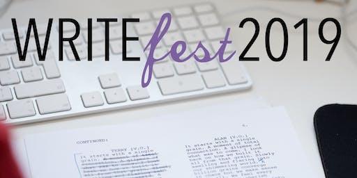 WriteFest 2019 - Shut Up and Write!