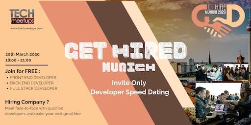 Get Hired Munich 2020