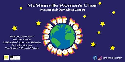 "McMinnville Women's Choir Winter Concert ~ ""Turn the World Around"""