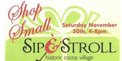 Sip  & Stroll - Shop Small