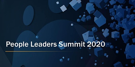 People Leaders Summit 2020 tickets