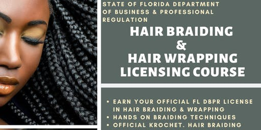 FL DBPR Hair Braiding & Wrapping Licensing Course