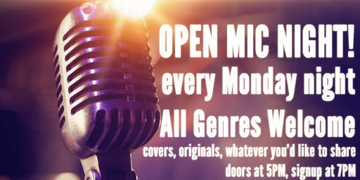 Open Mic Night! - Hosted by Patrick Dalton