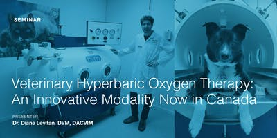 Veterinary Hyperbaric Oxygen Therapy Seminar
