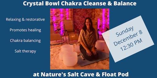 Crystal Bowl Chakra Cleansing & Balancing with Tracy Hart