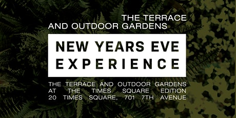 The Terrace and Outdoor Gardens New Year's Eve Experience  in Times Square tickets