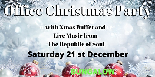 Office Christmas Party Night with The Republic of Soul