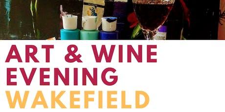 Art And Wine Evening Wakefield tickets