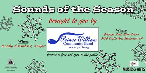 Sounds of the Season-Prince William Community Band
