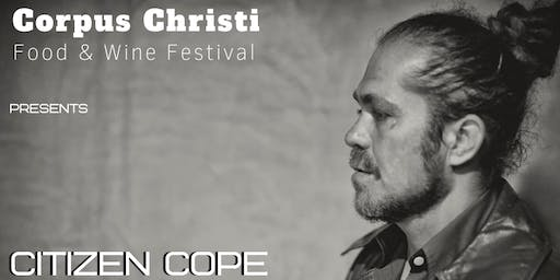 4th Annual Corpus Christi Wine Festival w Citizen Cope and Jackie Venson