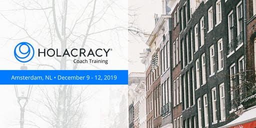 Holacracy Coach Training with Brian Robertson - Amsterdam - December 2019