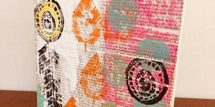 Mixed Media Art Class - Journal Design Nov 26