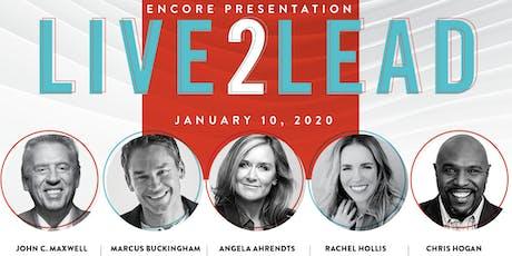 Live2Lead Calgary Encore tickets
