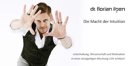 Die Macht der Intuition - die neue Tournee-Show mit Dr. Florian Ilgen tickets