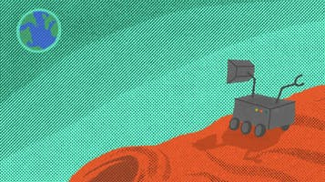 """""""Happy Birthday Mars Rover"""""""