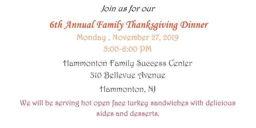 Thanksgiving Dinner-FREE