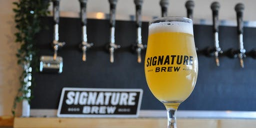 Signature Brew's Ticketed Launch Party At The New Brewery