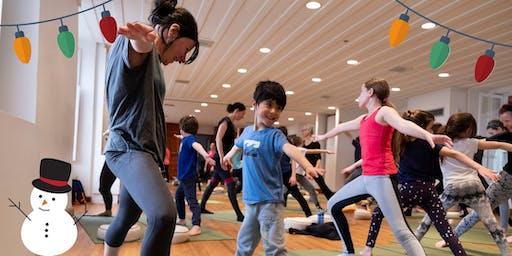 Yoga famille - 4 à 6 ans