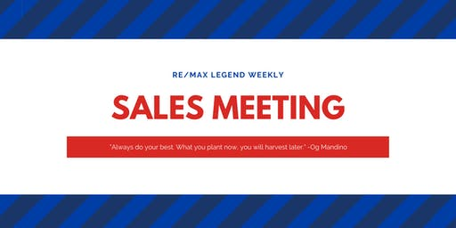 Tuesday Sales Meeting