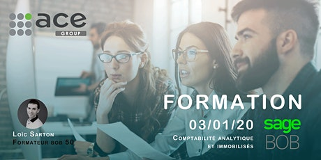 Formation BOB 50 - Comptabilité analytique et immobilisés tickets